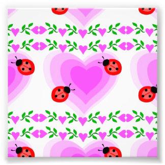 love romantic heart hearts lady bug Paper clip Art Photograph