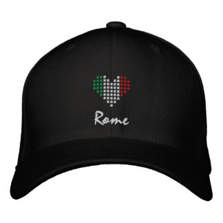 Love Rome Hat - Italy Embroidered Cap