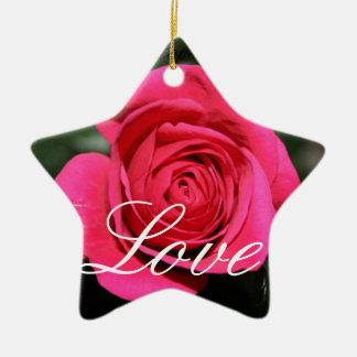 Love Rose  Ornament
