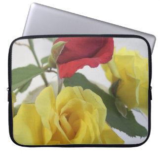 Love Roses Neoprene Laptop Sleeve 15 inch