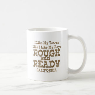 Love Rough and Ready Boys Basic White Mug