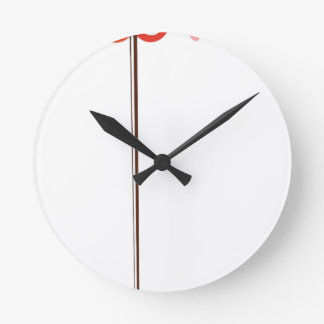 love round clock