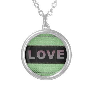 Love Round Necklace