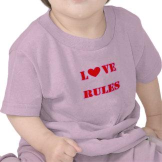 Love Rules Heart Infant T-Shirt