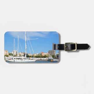 Love sailing luggage tag