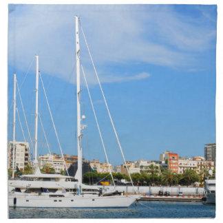 Love sailing napkin
