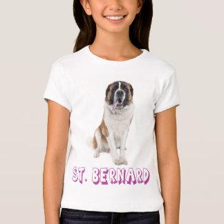 Love Saint Bernard Puppy Dog T-Shirt