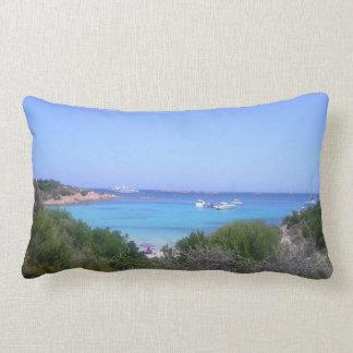 love sardinia beach of  prince lumbar cushion