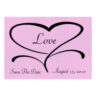 Love Save The Date Cards Business Card Template