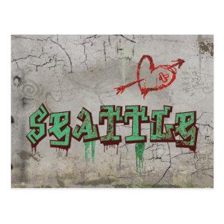 Love Seattle Postcard