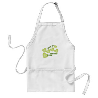 Love Served Standard Apron