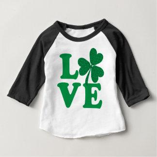 Love-Shamrock Baby T-Shirt