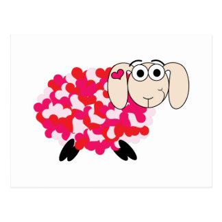 Love Sheep Postcard