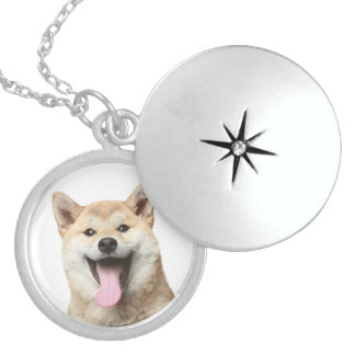 Love Shiba Inu Puppy Dog Pendant Necklace