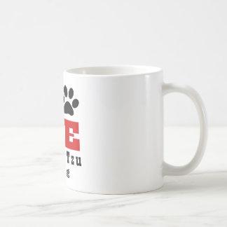 Love Shih Tzu Dog Designes Coffee Mug