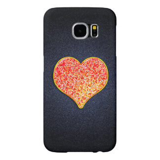 LOVE -Shiny Pink gold - Galaxy S6, Barely There Samsung Galaxy S6 Cases