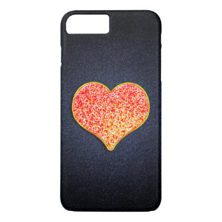 LOVE - Shiny Pink Gold - iPhone 7 Plus, Barely iPhone 7 Plus Case