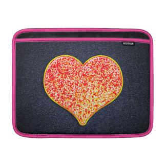 "LOVE -Shiny Pink gold - Macbook Air 13"" Horizontal MacBook Sleeves"