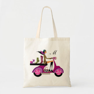 Love Shoe Scooter Girl Funny Cute Monogram