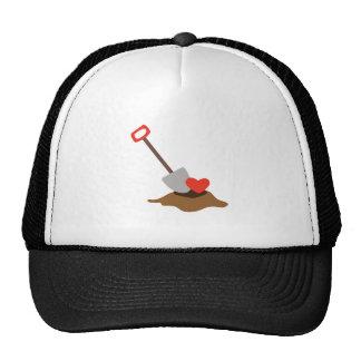 Love Shovel Trucker Hats