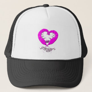 love shrimps trucker hat