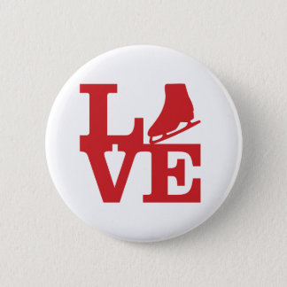 Love Skate 6 Cm Round Badge