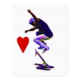 Love Skateboarding Post Cards