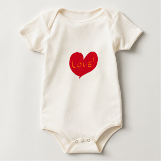 Love sketch baby bodysuit