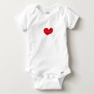 Love sketch baby onesie