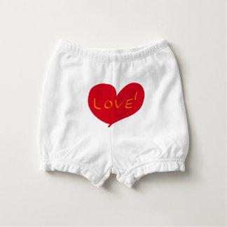 Love sketch nappy cover