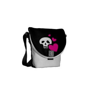Love Skull Commuter Bag