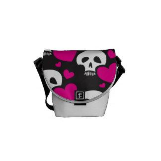 Love Skull Pattern Commuter Bags