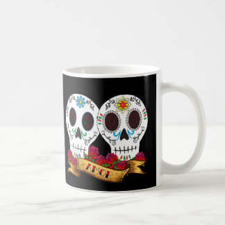 """Love Skulls """"Amor"""" Coffee Mug"""