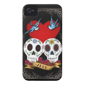 Love Skulls Blackberry Bold Case-Mate Case