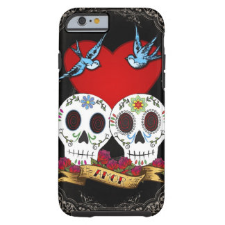 Love Skulls Tough iPhone 6 Case