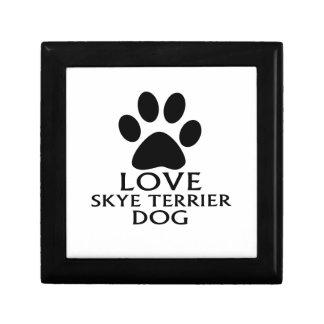 LOVE SKYE TERRIER DOG DESIGNS GIFT BOX