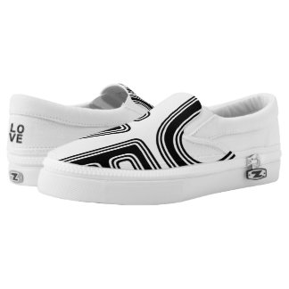 """""""LOVE"""" SLIP ON SHOES"""