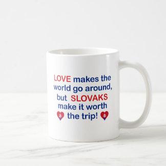 Love Slovaks Coffee Mug