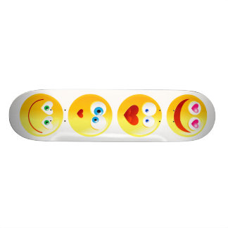 Love Smilie, Love Smilie, Love Smilie, Love Smilie Skateboard Deck