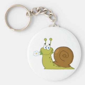 Love Snail Key Ring