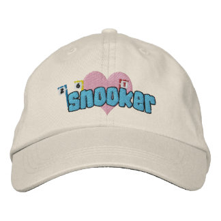 Love Snooker Embroidered Hat