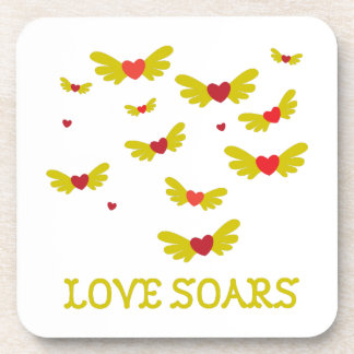 Love Soars Drink Coasters