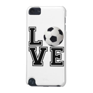 Love Soccer College Style iPod Touch (5th Generation) Covers