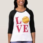 Love Softball Tshirt