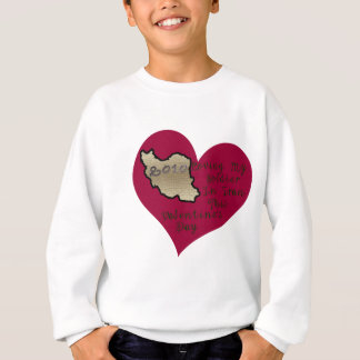 LOVE SOLDIER IRAN VAL DAY SWEATSHIRT