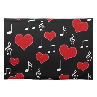Love song placemat
