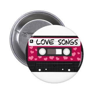 Love Songs Tape Pin