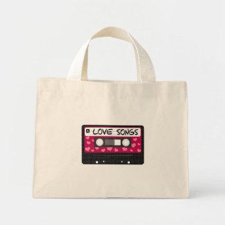 Love Songs Tape Mini Tote Bag