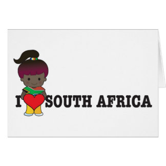Love South Africa Card
