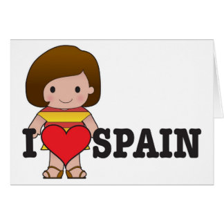 Love Spain Card